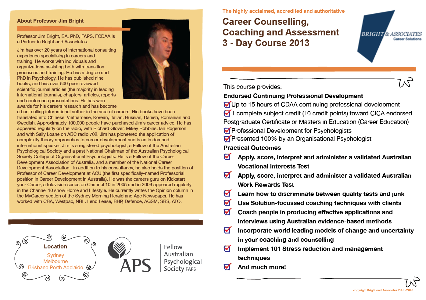 Career Coaching Certification Course Sydney Sept 11 13