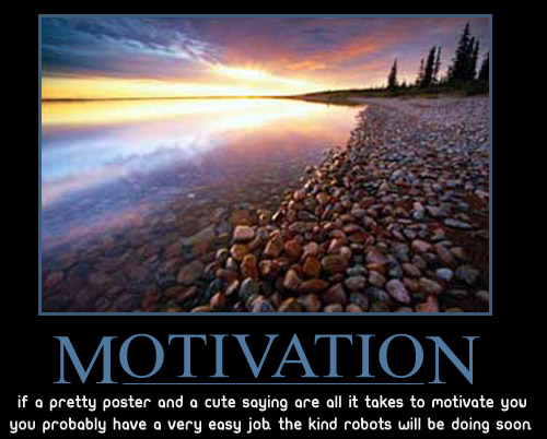 demotivation motivational poster