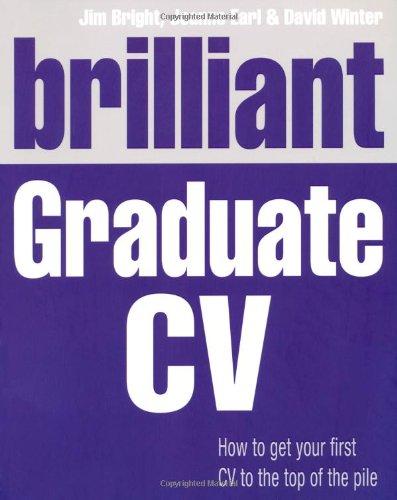 Brilliant Graduate CV